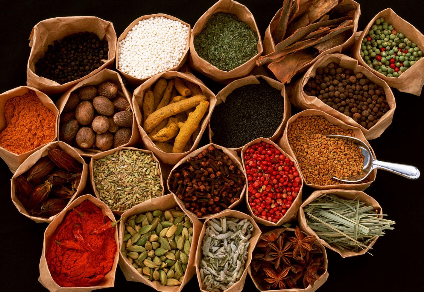 ネパール料理のスパイス